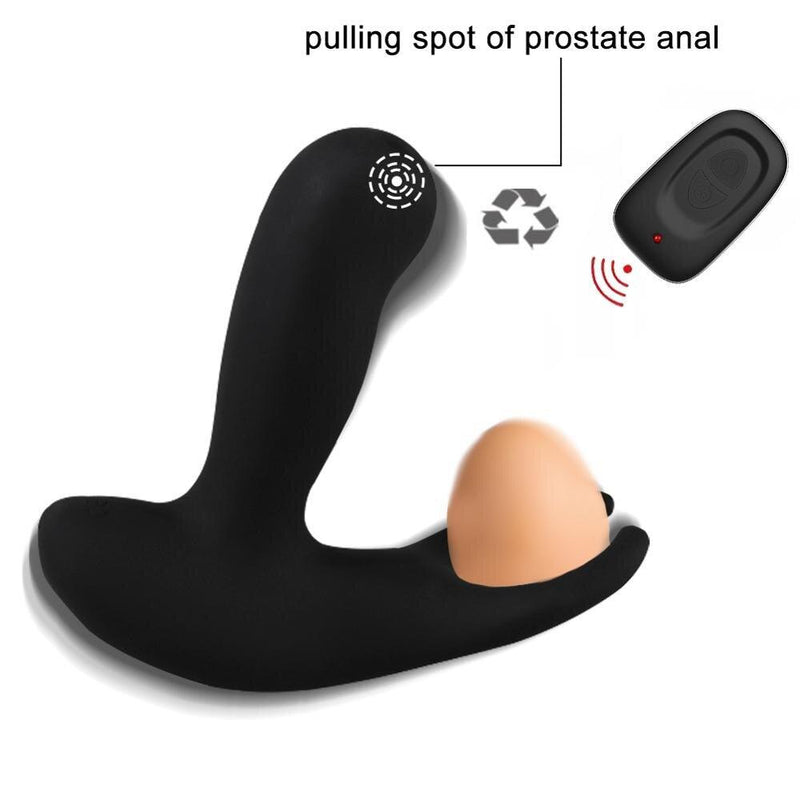 16 Speeds Male Prostate Massager Anal Butt Plug Vibrator For Men Silicone Prostate Sex Toys Wireless Remote Buttplug Vibrador