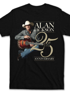 2015 Tour - 25th Anniversary Tour T-shirt