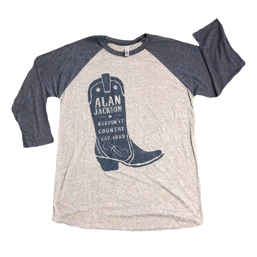 2019 Raglan Boot Tour T-Shirt