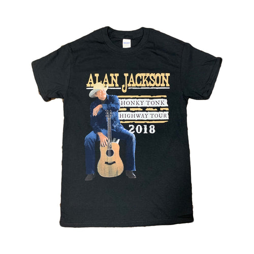 2018 Official Honky Tonk Highway Tour T-Shirt
