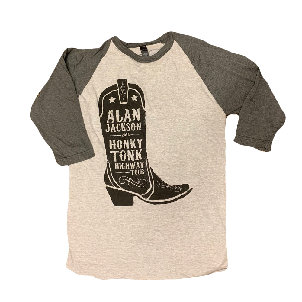 2018 Raglan Boot Tour T-Shirt