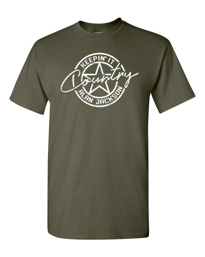 T-Shirt - Keepin' It Country Star Logo