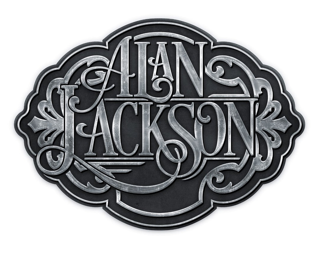 Alan Jackson Belt Buckle