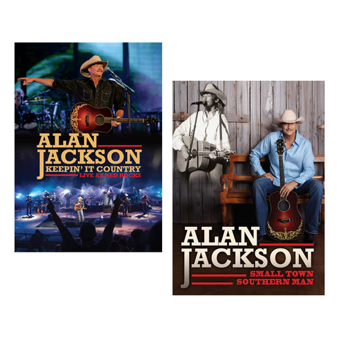 Alan Jackson DVD Bundle