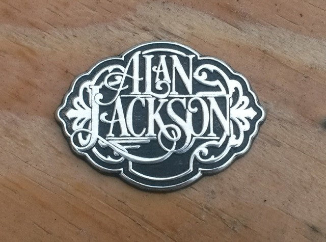 Alan Jackson Hat Pin