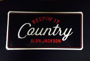 Keepin' It Country License Plate