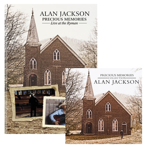 Precious Memories Live at the Ryman DVD + Precious Memories 2CD Set