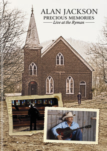 Precious Memories Live at the Ryman DVD (2017)