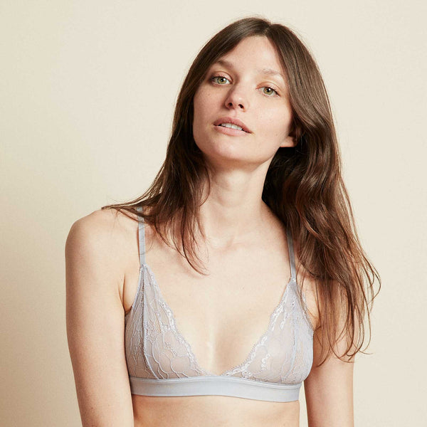 The Shangalang Bra in Silver Lining Grey