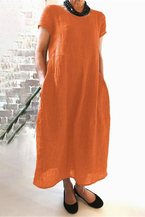 Meridress Marilyn A-line Loose Fit Maxi Dress