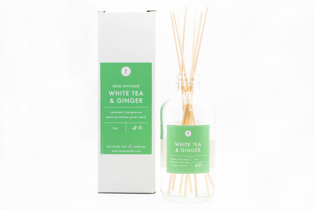 White Tea & Ginger Reed Diffuser