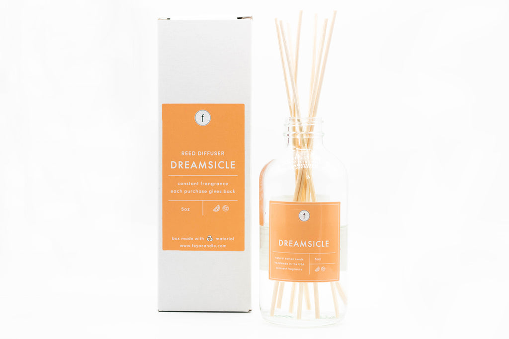 Dreamsicle Reed Diffuser