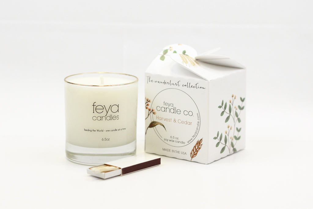 Harvest & Cedar - Feya Candles