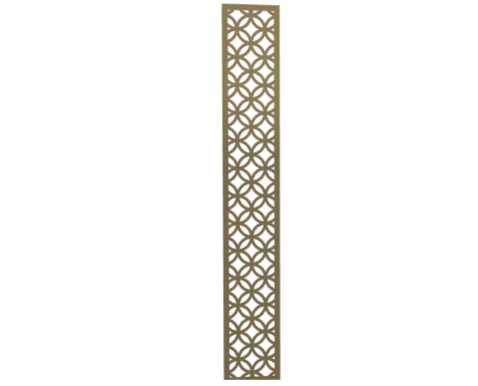 Laser Cut Metal Decorative Wall Decor / Wall Art-Slim Size by ABIYA.