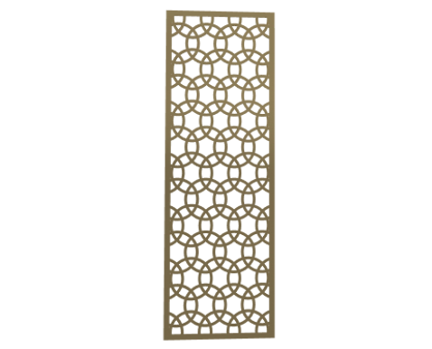 Laser Cut Metal Decorative Wall Decor / Wall Art by ABIYA. Medium Size