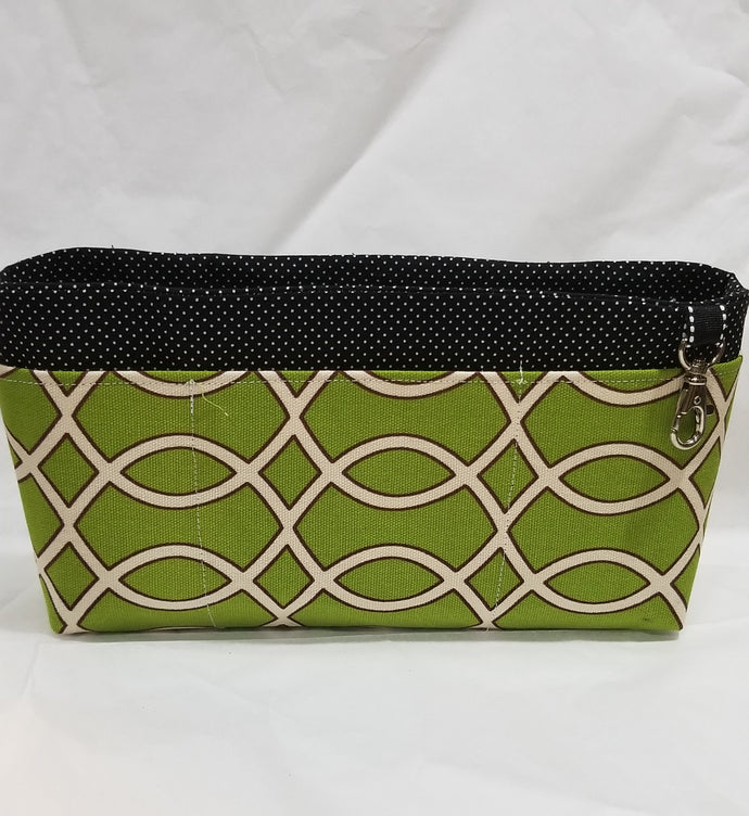 Lime Green Large Organizer