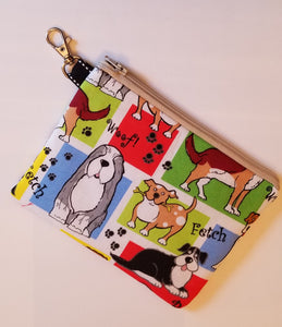 Cute Dogs Zipper Pouch