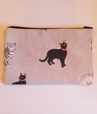 Cats Zipper Pouch