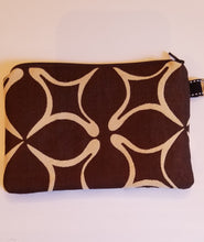 Load image into Gallery viewer, Brown Zipper Pouch
