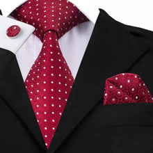 Load image into Gallery viewer, Men Red Tie set