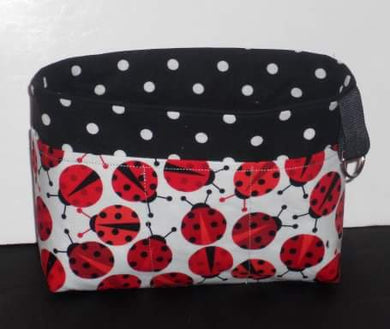 Lady bugs Purse Organizer