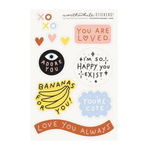 You Are Loved Sticker Set