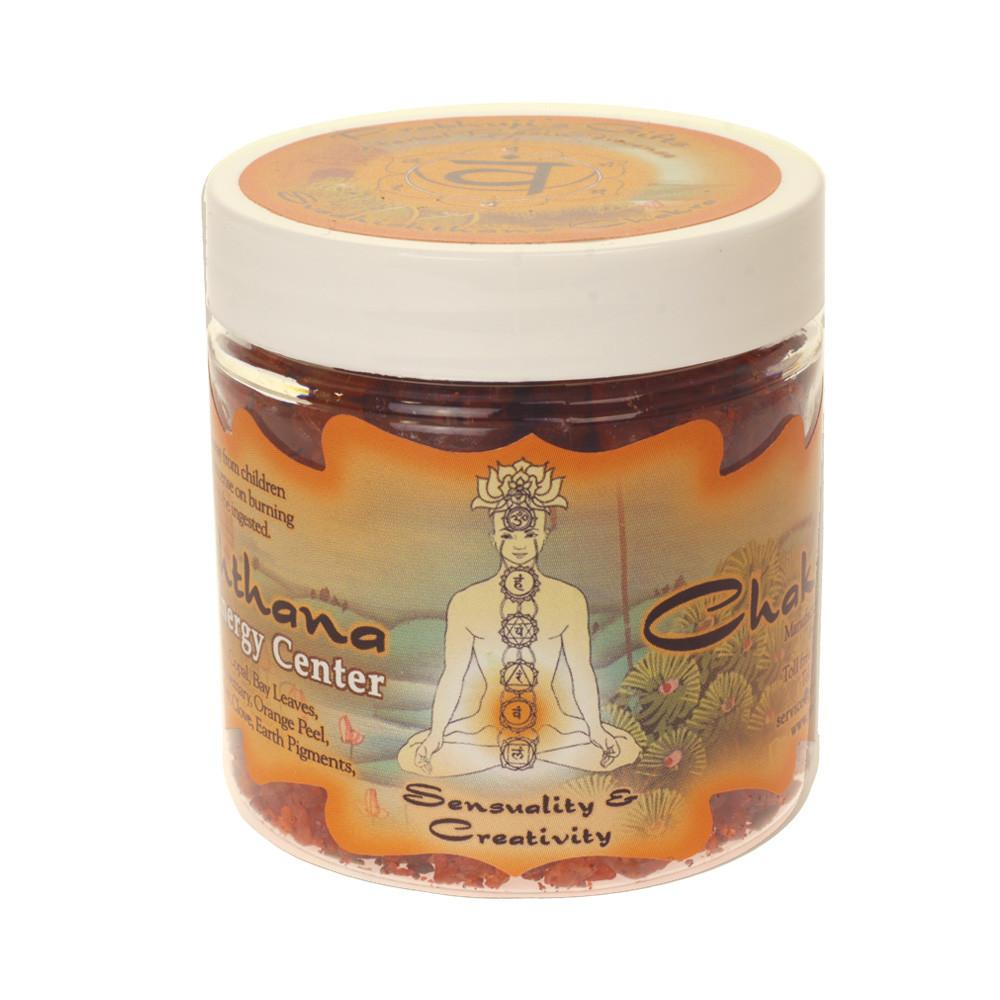 Svadhishthana Chakra Herbal Resin Incense