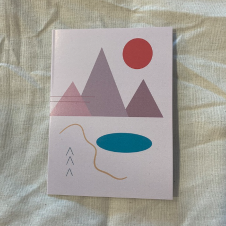 Abstract Mountain Card