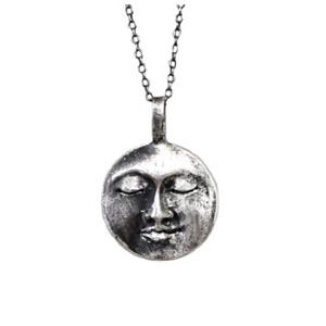 All That Ever Was Moon Necklace