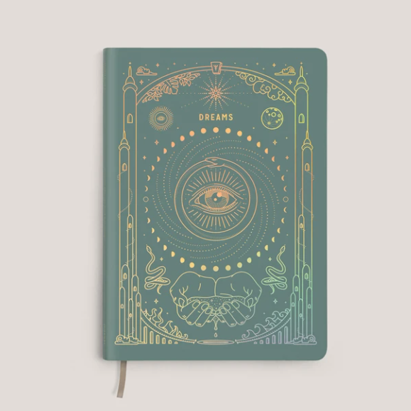 Teal Holo Ether Dream Journal