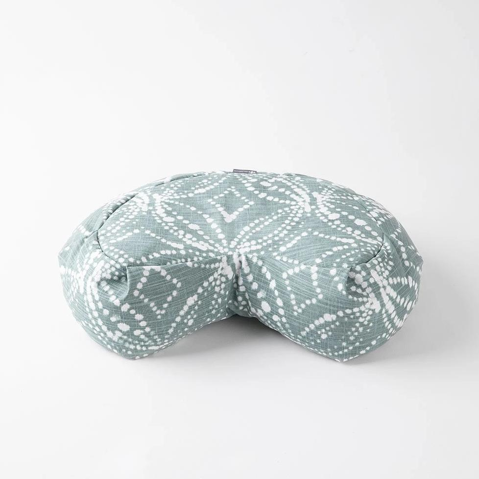 Halfmoon Meditation Cushion | Batik