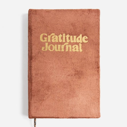 Gratitude Journal | Soft Rust Velvet