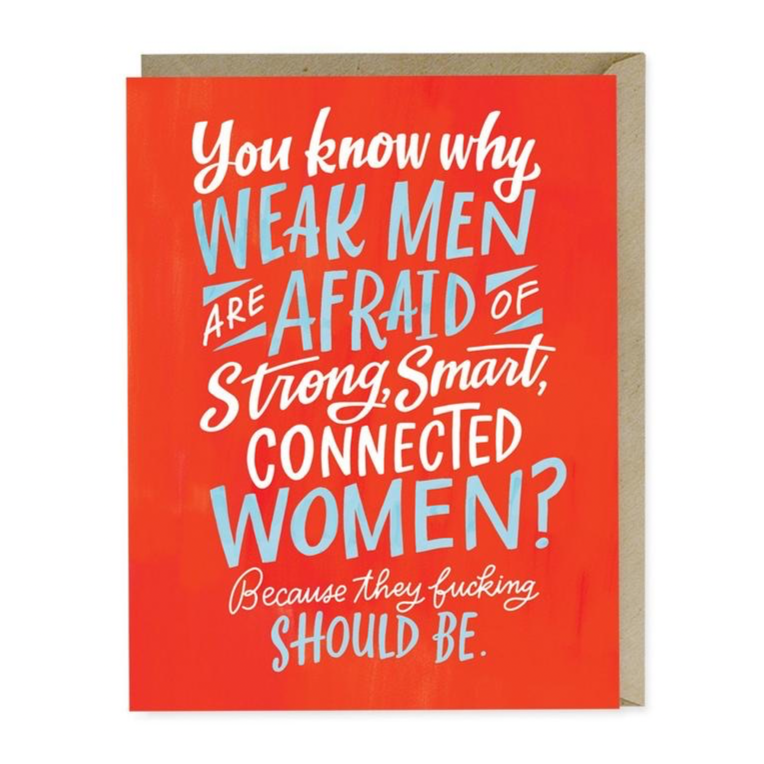 Strong, Smart, Connected Women Card
