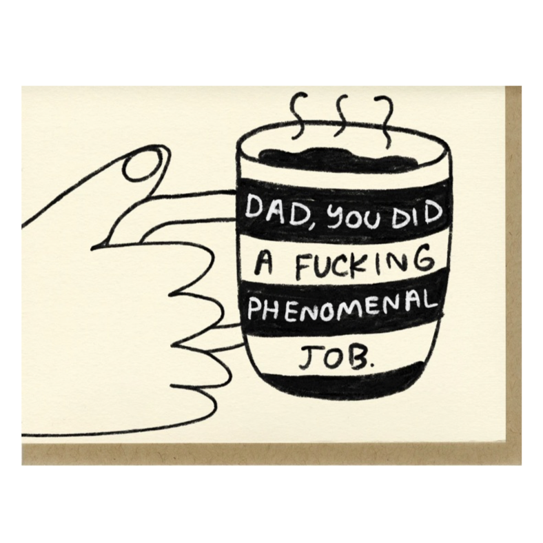 Phenomenal Dad Card