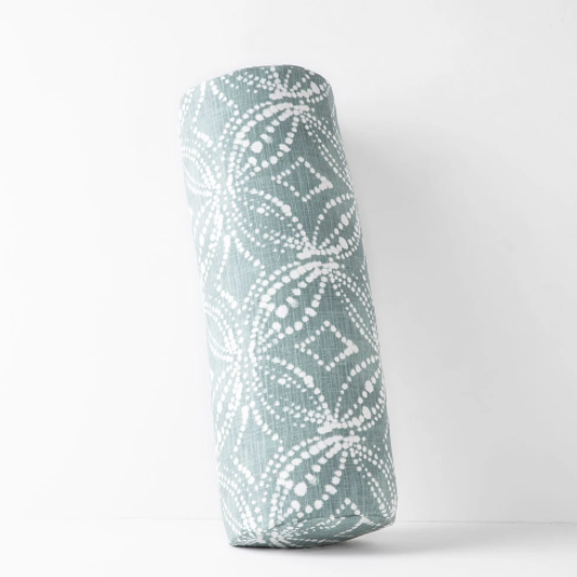 Limited Edition Cylindrical Bolster | Batik