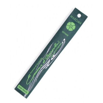 Vetiver Fair Trade Incense