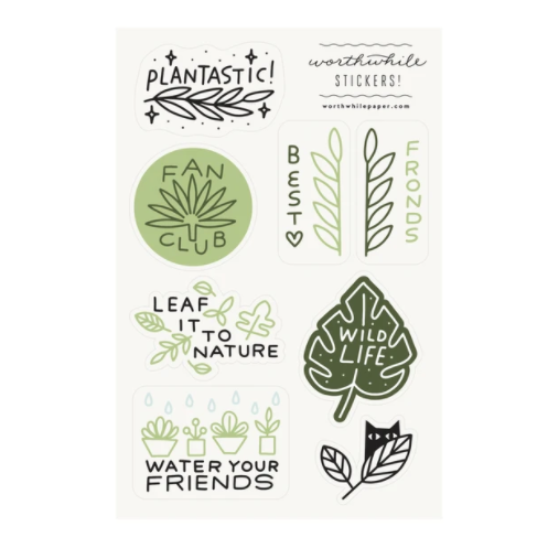 Plants Sticker Set