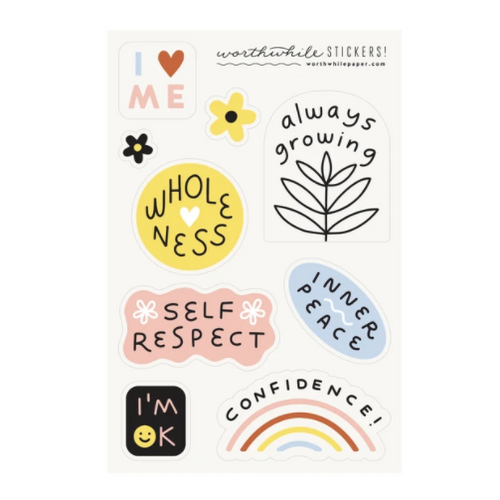 Self Love Sticker Set