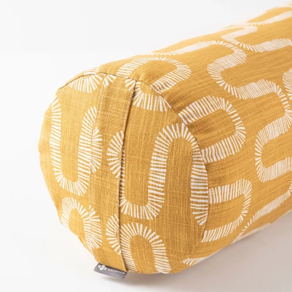 Limited Edition Cylindrical Bolster | Honeycomb