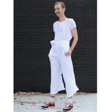 Load image into Gallery viewer, White Barcelona Linen Jumper | Maxi Length