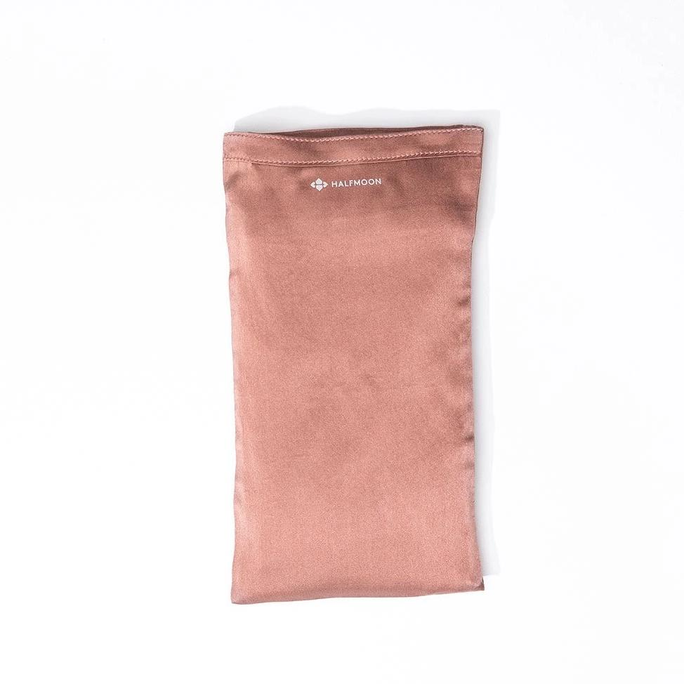 Rose Clay Silk Unscented Eye Pillow