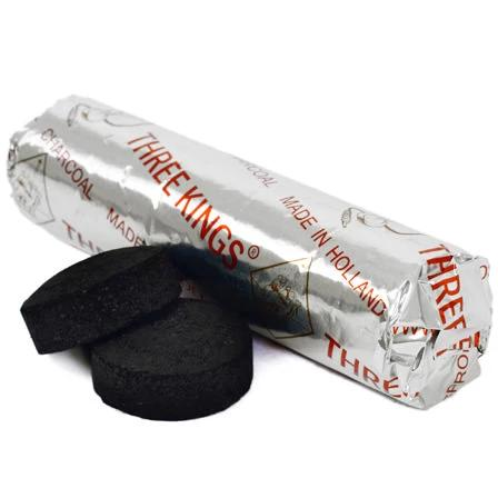 Charcoal Briquet Rolls (for Resin Incense)
