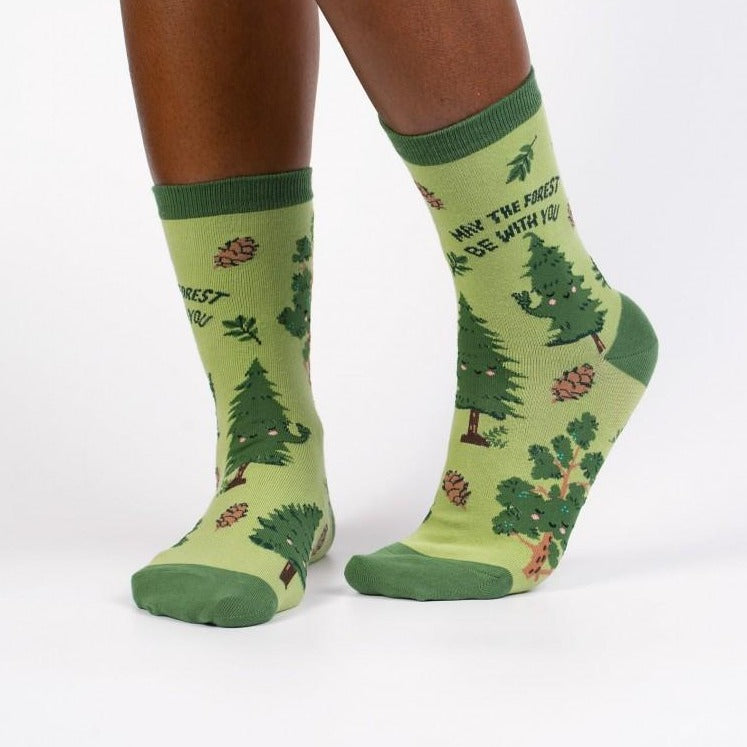 May the Forest Be With You | *Women's Crew Socks