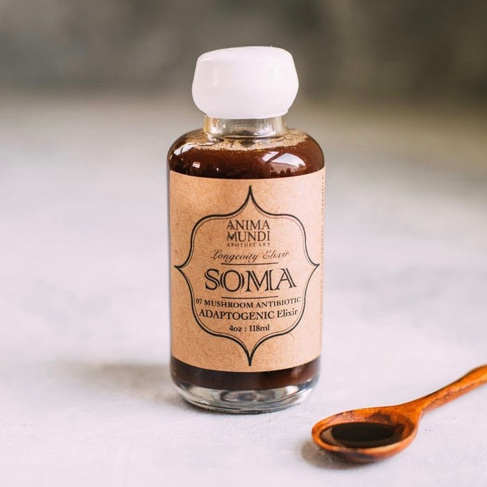 Soma Elixir | 7 Mushrooms + Vitamin C (New Higher Potency!)