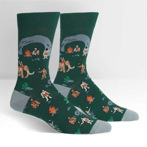 Man Cave | Men's* Crew Socks