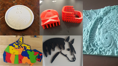5 Awesome 3D Print Files for 5 Different School Subjects