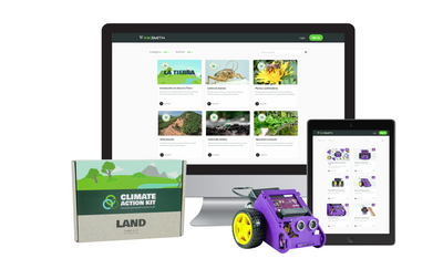 InkSmith Releases Spanish Curriculum for k8 Robot and Climate Action Kit