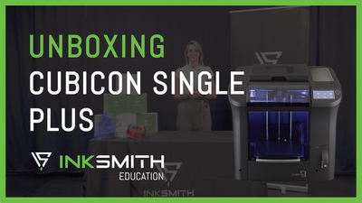 Unboxing the Cubicon Single Plus 3D Printer