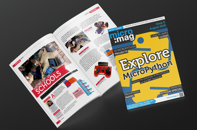 k8 Robot Featured in micro:mag Community Magazine