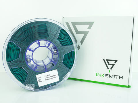 InkSmith PLA 3D Printing Filament Forest Green
